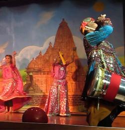 Traditional dance performance - Khajuraho