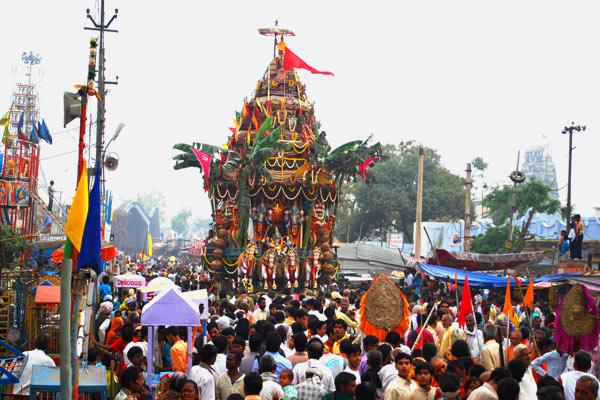 Rath Yatra Rang Ji Temple Vrindavan