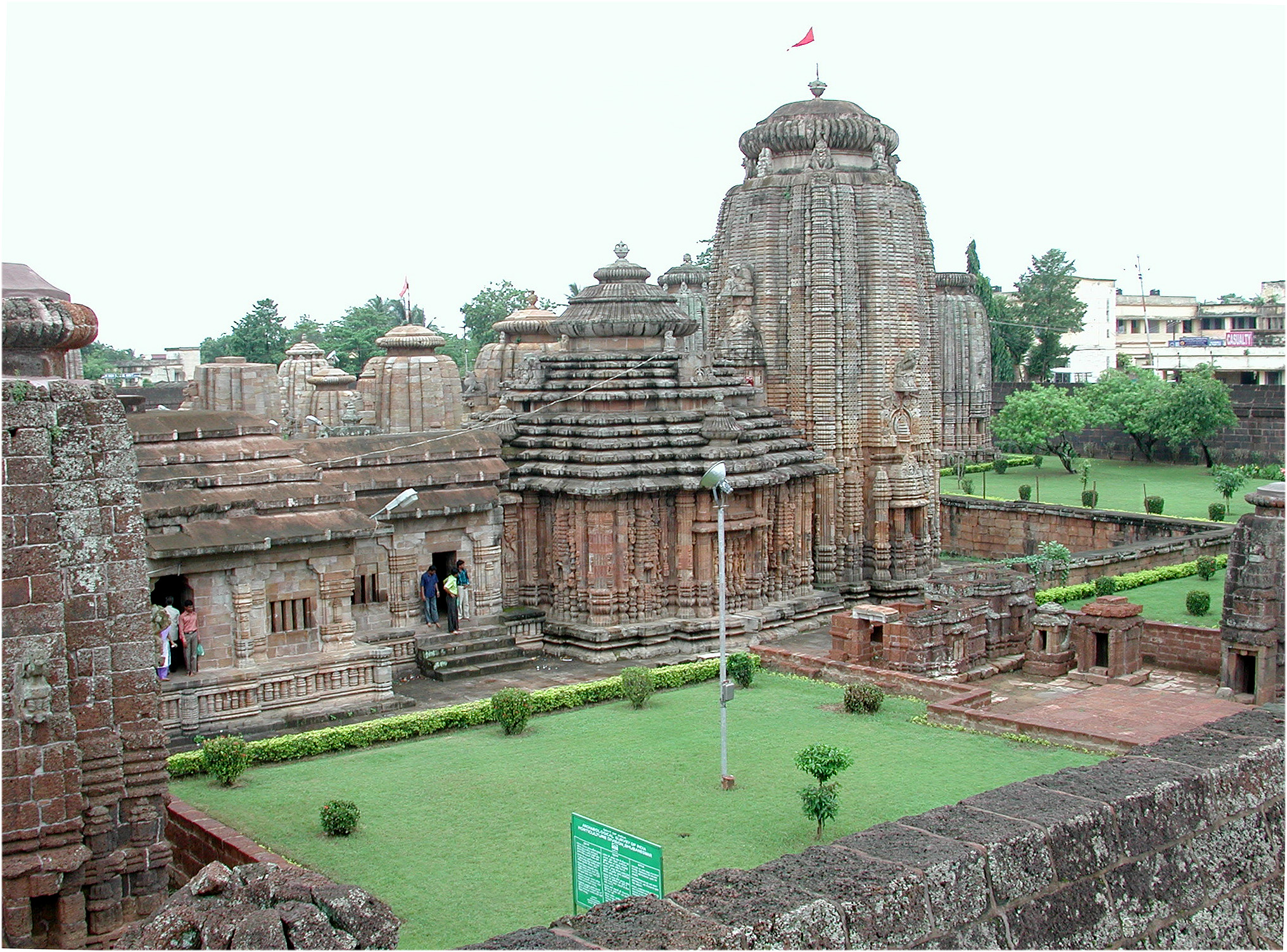 The Lingaraj temple