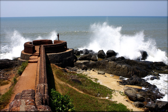 The fort with the Beach
