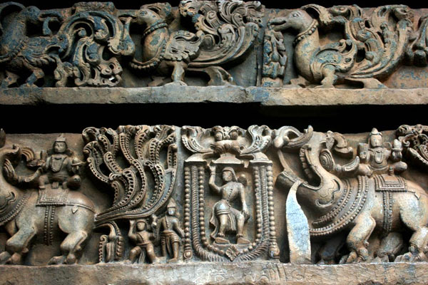Belur and Halebid Sculptures