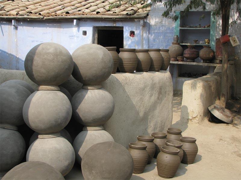 Activity Village walk Pottery