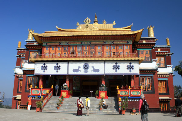Buddhist Monastry Darjeeling