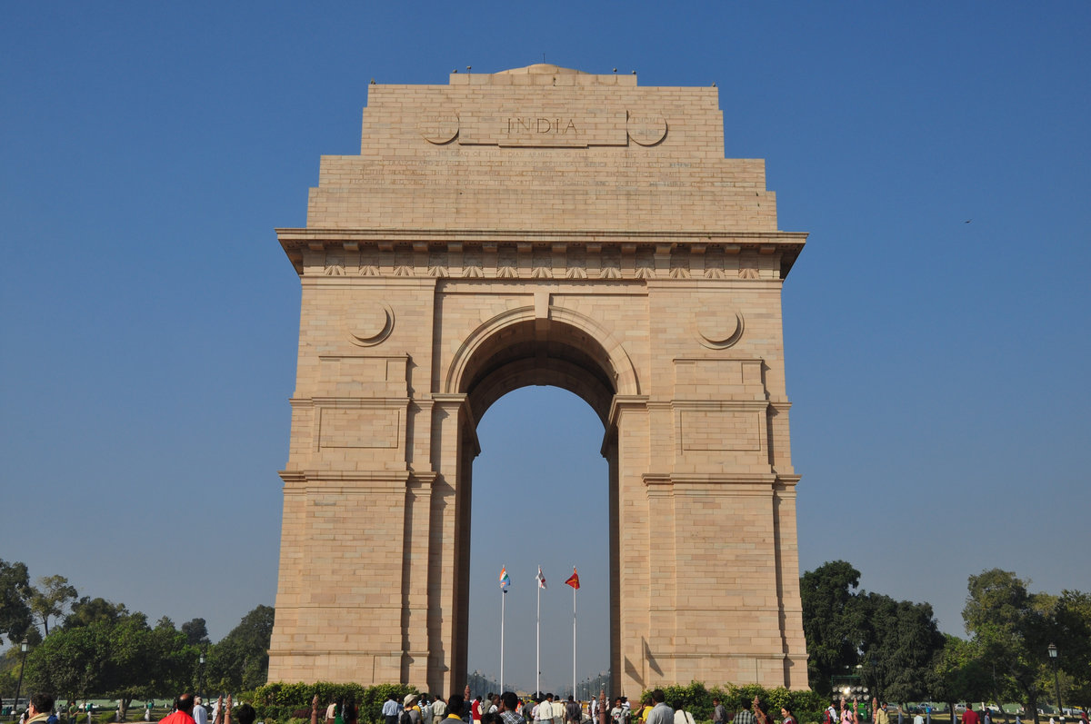 The India Gate expanse