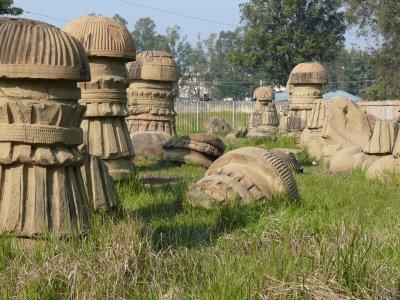 Kachari Phallic Columns