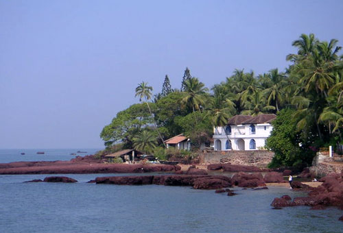 Goa Coastline at Dona Paula