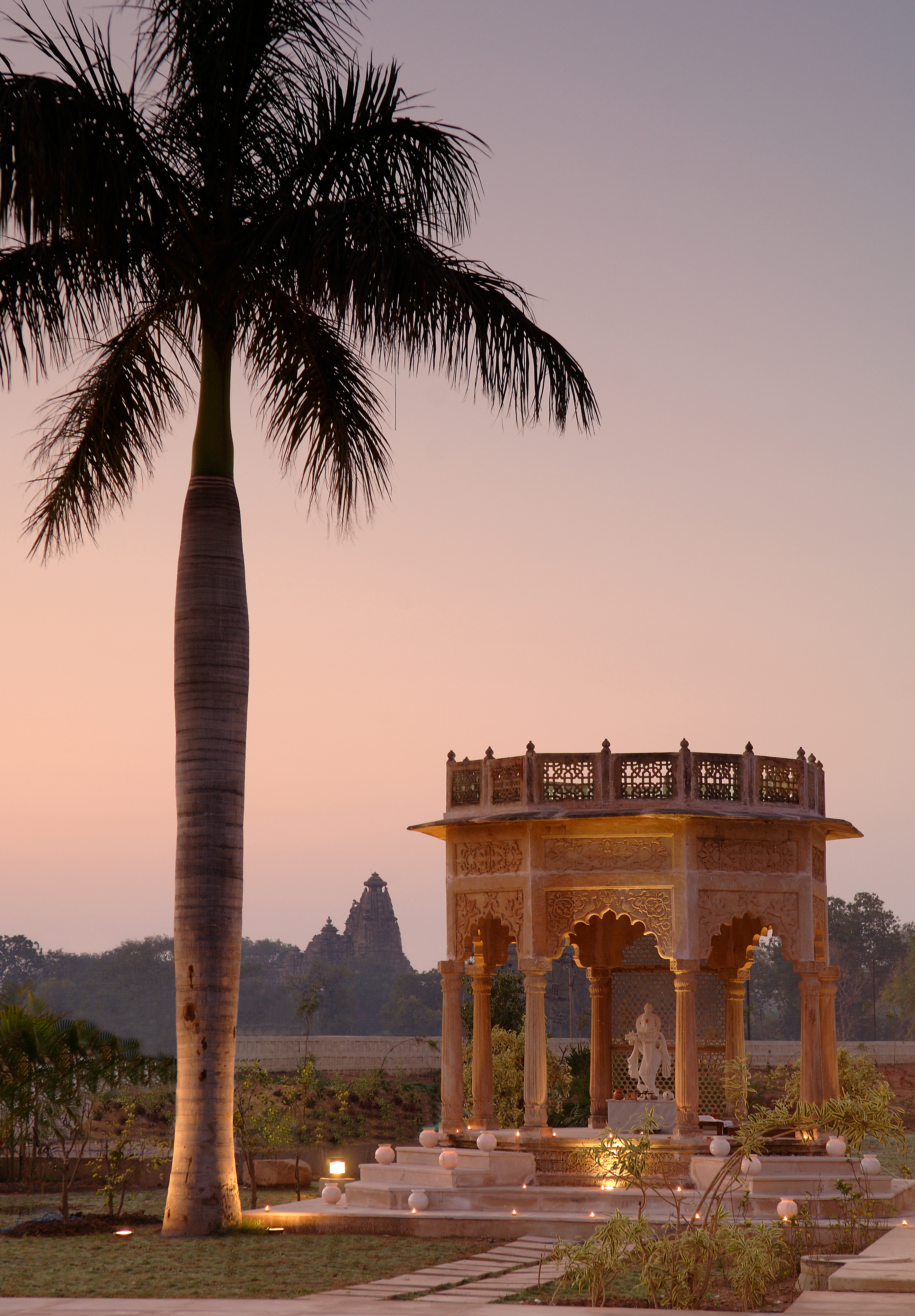 THE LALIT TEMPLE VIEW