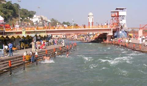 ganga river haridwar