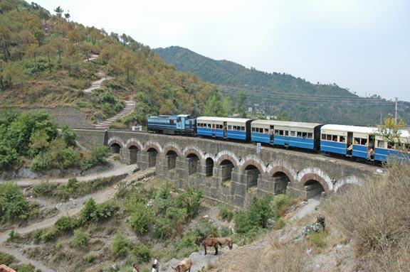 Kalka Shimla heritage toy train
