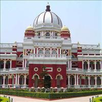 The Raj Bari or the Royal palace