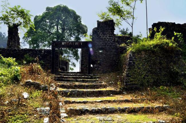 The Buxa Duar Fort