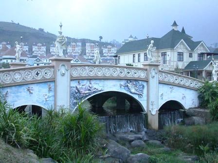 kota bunga bridge