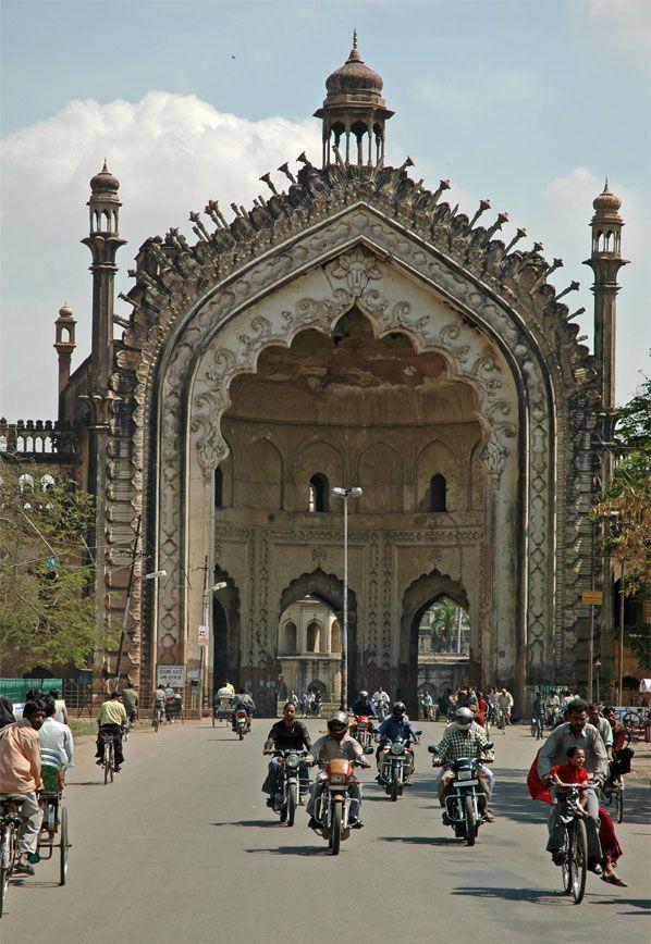The Bada Imambara and the Rumi Darwaza