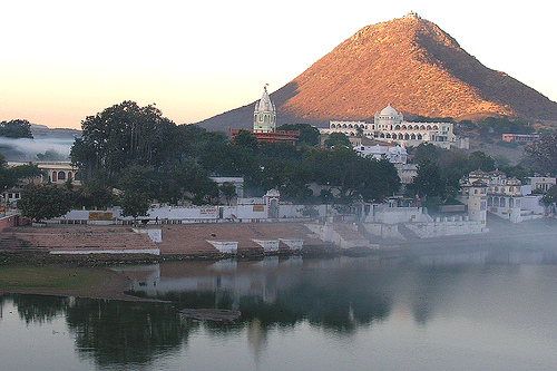 Luni River in Rajasthan
