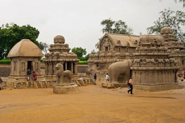 Pancha Rathas Mahabalipuram