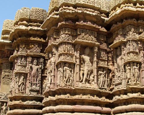 Sculpture Sun Temple