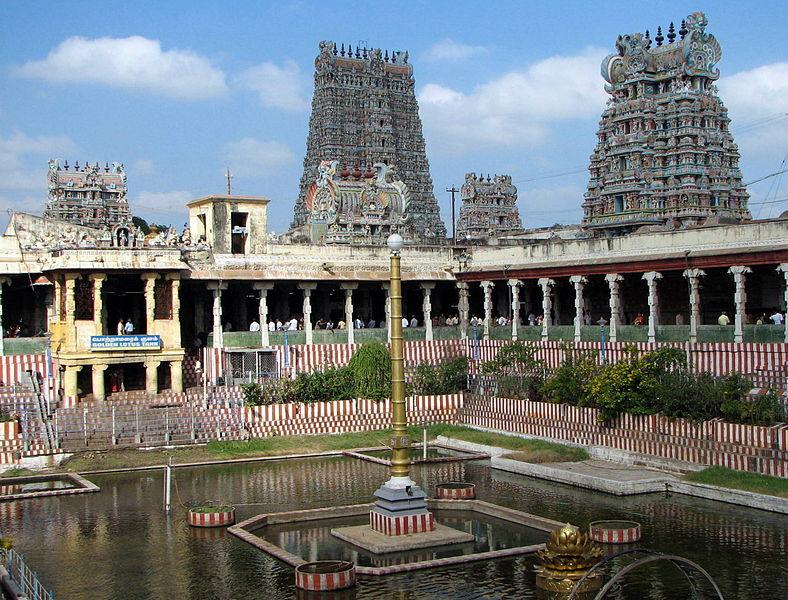 Meenakshi-Sundareswarar temple