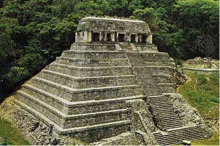 pyramidal stone temples