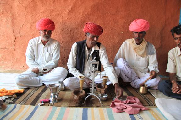 Opium Ceremony