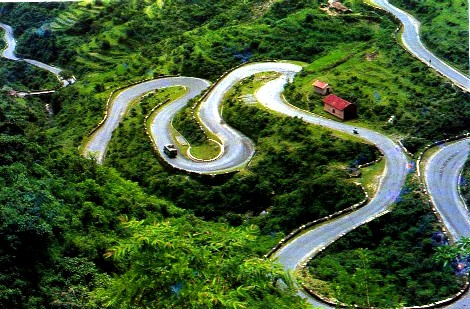 Winding Roads to Ooty