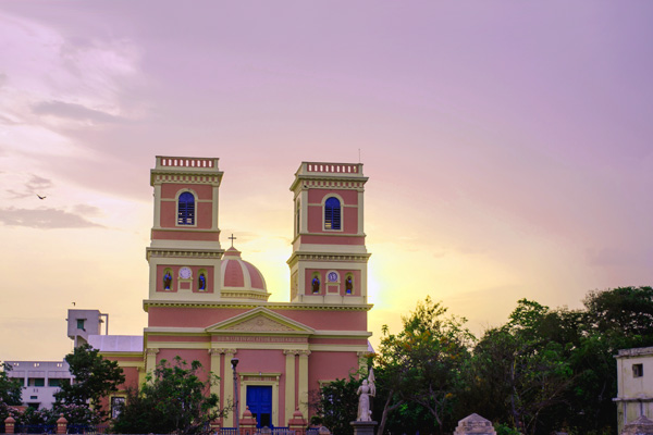 Church Of Lady Of The Angels Poducherry