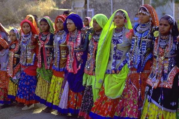 Tribal Village Paople Dance