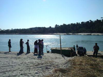 Siang River at Pasighat