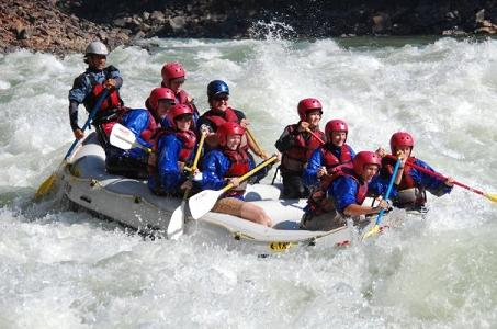 White Water Rafting at Rishikesh
