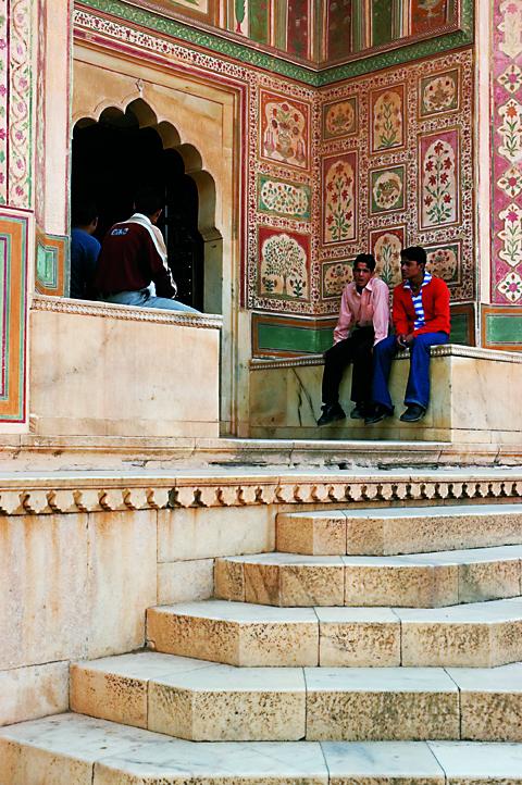 Decorative Painted Gate, Shekhawati