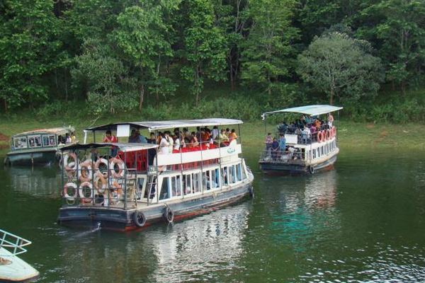 Boat Ride at Periyar Lake