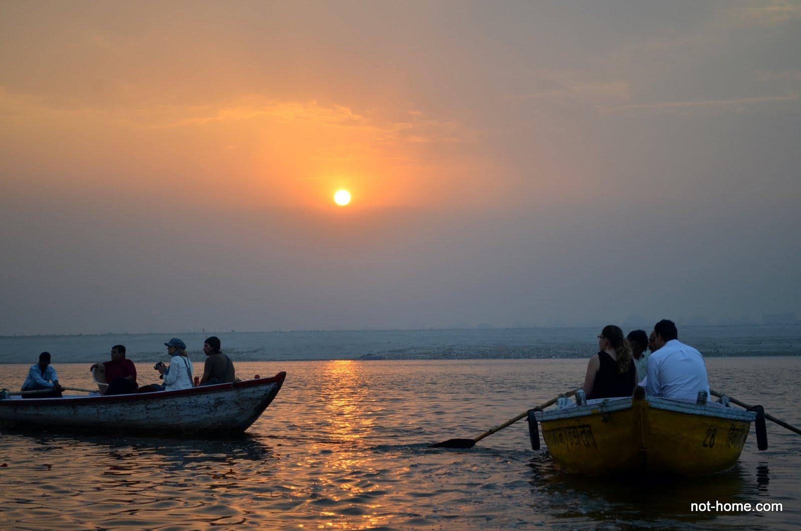 Boat ride at Varanasi