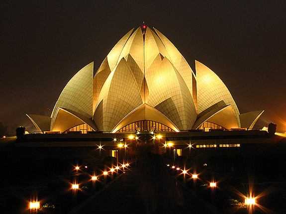 Travel Information History Story And Images Of Lotus Temple Delhi
