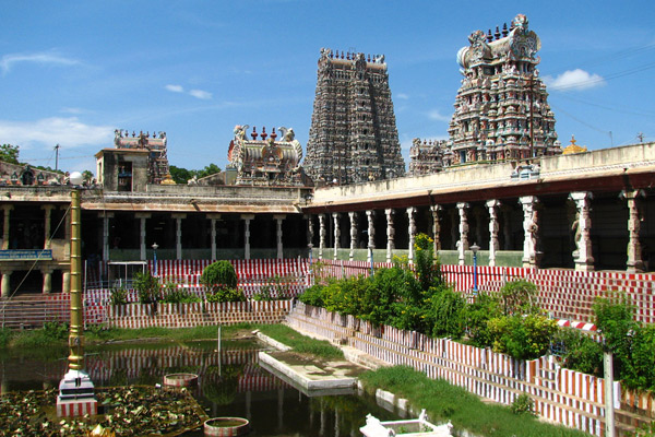 image of Meenakshi Temple