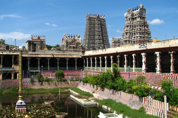 image of Meenakshi Temple