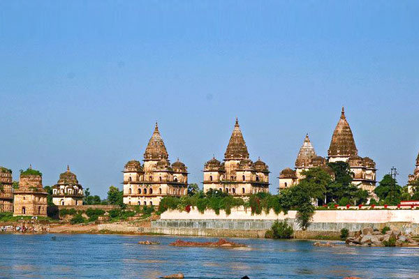 View from Orchha Fort Image