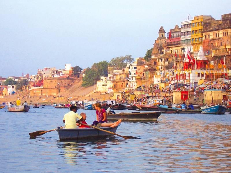 image of Boat ride at Varanasi