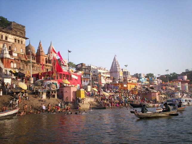 image of Morning Boat Ride at Ganges Varanasi