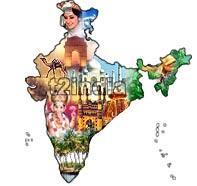 India cultural map