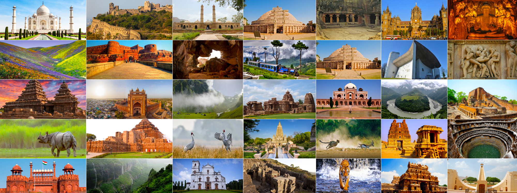 UNESCO world heritage sites of india